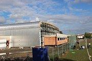 Výstavba sportovní haly v Lipníku nad Bečvou
