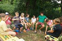 O tábory v Čekyni u Přerova je letos obrovský zájem.