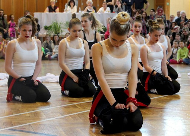 Taneční skupiny z Přerovska na přehlídce v Tovačově
