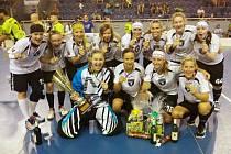 Vítězný tým florbalového turnaje žen v Jindřichově Hradci FBC Spartak Přerov.
