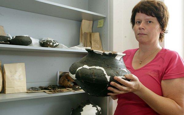 Archeologické nálezy zlokality Lipník nad Bečvou – Trnávka vArcheologickém centru Olomouc