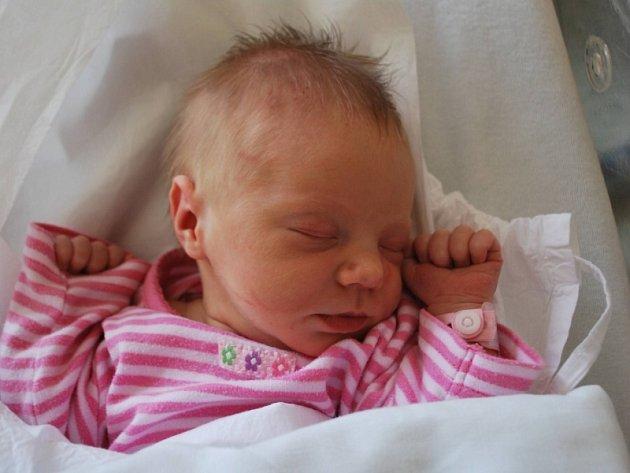 Thea Bajcarová, Přerov, narozena 23. srpna 2012 v Přerově, míra 50 cm, váha 3 040 g