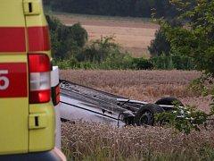 Tragická dopravní nehoda u Kojetína.