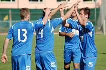 Radost fotbalistů Přerova