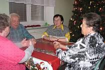 Na to, jak prožívali Vánoce, vzpomínali důchodci z Domova pro seniory Radkova Lhota