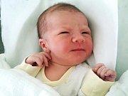 Matyáš Dort, Přerov, narozen 24. ledna v Přerově, míra 51 cm, váha 3330 g