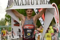 Jiří Klíma. Triatlonový závod Mamutman v Přerově