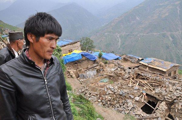 Do Nepálu, poničeného zemětřesením, jel pomáhat iPetr Janoušek zArmády spásy, který dlouhá léta působil vPřerově.