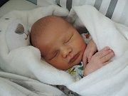 Jakub Štěpán, Přerov, narozen dne 15. září vPřerově, míra 52 cm, váha 3972 g
