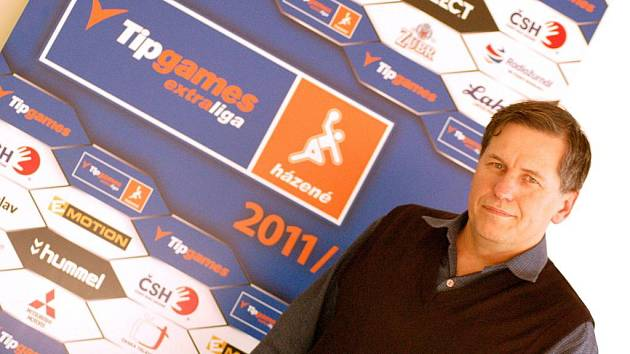 Richard Buček, předseda oddílu házené Sokola HC Přerov a asistent extraligového týmu mužů