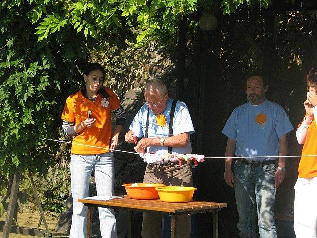 Olympiáda důchodců v Radkově Lhotě