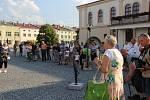 Venkovní výstava Kov ve městě v Lipníku 2018