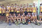 Úspěšní zástupci přerovského klubu Moravian Dragons na ME klubů v Seville