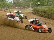Čtvrtý závod Mezinárodního mistrovství České republiky v autokrosu na Přerovské rokli
