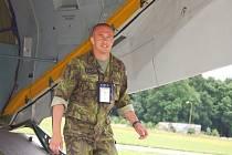 Kapitán Dušan Gottfried absolvoval svou první zahraniční misi v Kosovu.