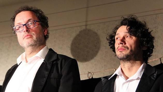 Josef Polášek a Pavel Liška v představení Komediograf