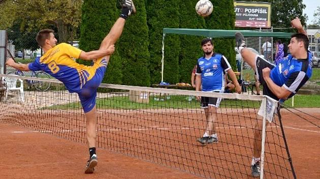 Nohejbalové derby Přerov vs. Prostějov. Ilustrační foto