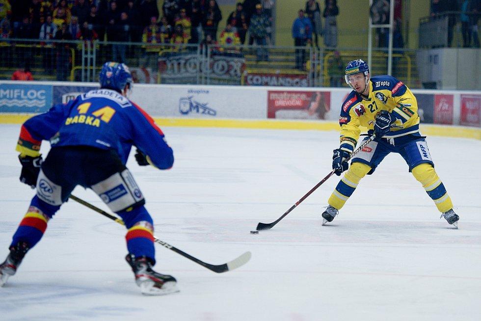 Hokejisté Přerova v krásné bitvě porazili České Budějovice 4:2.