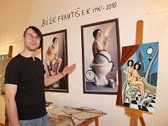 Výstava Nevšední umělec František Bílek v Muzeu Komenského v Přerově, která mapuje tvorbu tohoto svérázného olomouckého malíře.