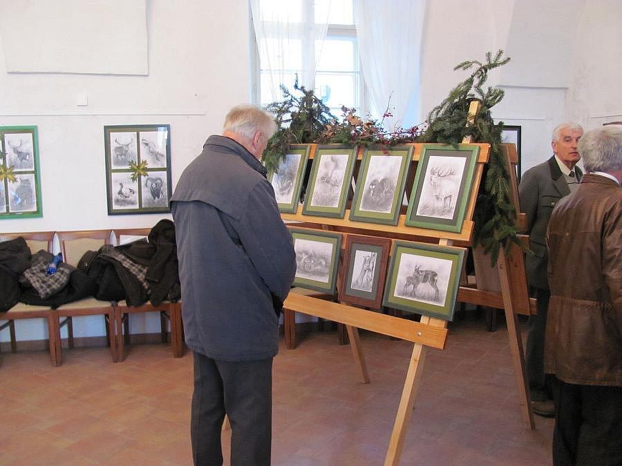 V Hustopečích nad Bečvou uctili patrona myslivců svatého Huberta.