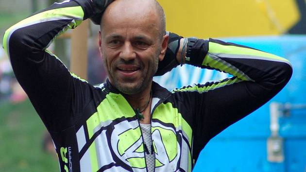 Horolezec Radek Jaroš na 16. ročníku Author Šela Marathonu