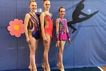 Moderní gymnastky TJ Spartak Přerov posbíraly na jaře výborná umístění