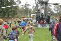 V sobotu 28. června v Lobodicích na Přerovsku předváděly složky integrovaného záchranného systému ukázky své práce.