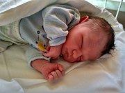 Ladislav Bezděk, Lipník n/B, narozen dne 30. května vPřerově, míra 50 cm, váha 3724 g