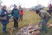 Novoroční výstup na Čekyňský kopec přilákal v úterý na 670 milovníků turistiky z Přerova a okolí.