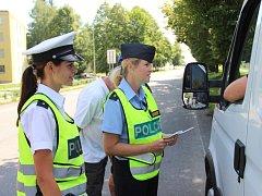 Čtvrteční  kampaň na podporu konzumace nealkoholického pití za volantem proběhla ve čtvrtek v Přerově.