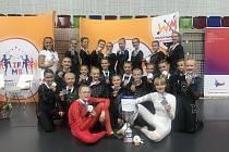 Úspěšné mažoretky Fantasy Přerov na mistrovství světa 2019 v Praze.