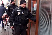 Ilustrační foto. Strážníci městské policie.