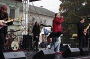 Vánoční koncert Pavla Nováka na přerovském náměstí
