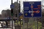Březen 2019. Kvůli přestavbě zavřela v Přerově frekventovaná Polní ulice sloužící jako spojka výpadovek na Olomouc a na Zlín