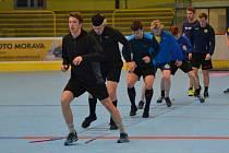 Hokejisté HC Zubr Přerov za sebou mají první tréninky v rámci suché přípravy na novou sezonu.