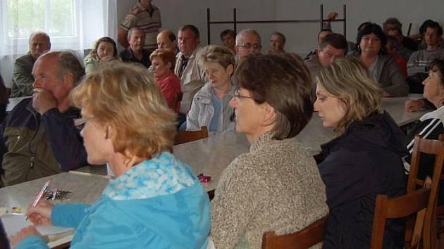 Zasedání zastupitelstva v Troubkách