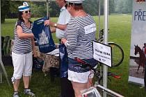 Přerovská recesní cyklojízda se konala v komorním složení, v přerovském parku Michalov pak byli vyhlášeni vítězové akce Do práce na kole.