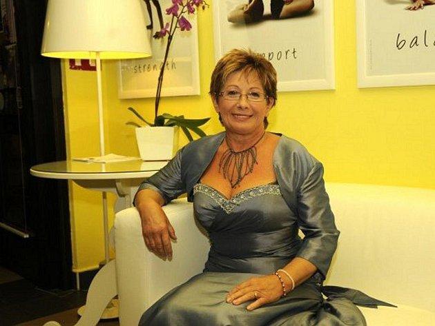 Finalistka soutěže Eurobabička - Květa Kohoutková