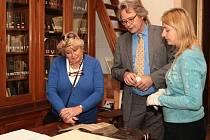 Do Přerova zavítala vzácná návštěva z muzea v Naardenu.