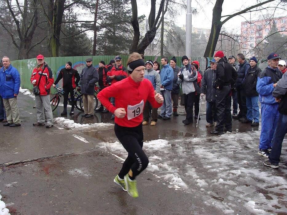 Silvestrovský běh v Přerově