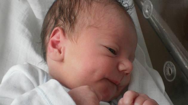 Jaroslav Dočkal, Troubky, narozen dne 26. dubna 2013 v Přerově, míra: 51 cm, váha: 3 018 g