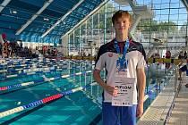 Martin Míček získal tři medaile na letním juniorském MČR.