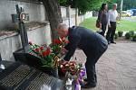 Uctění obětí hromadné popravy 267 karpatských Němců v Přerově