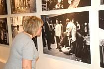 Výstava Jindřicha Štreita Lidé z Vítkovska  v galerií města Přerova