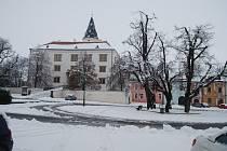 Sněhová nadílka v Přerově - 4. 2. 2019