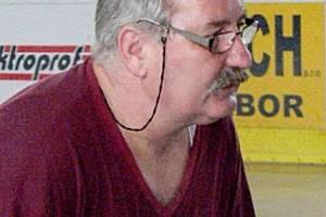 Trenér hokejových brankářů Vlastimil Kováč.