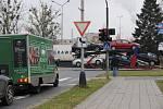 Kvůli uzavírce v Polní ulici zkolabovala v Přerově doprava.