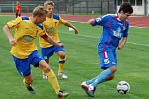 Přerovští fotbalisté proti Tasovicím