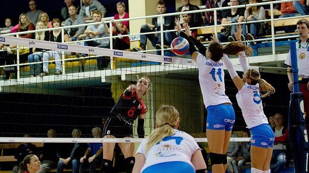 Volejbalistky Přerova vstoupily do nové sezony utkáním s Ostravou.