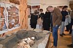 Vernisáž výstavy Příběhy z pravěku v Muzeu Komenského v Přerově
